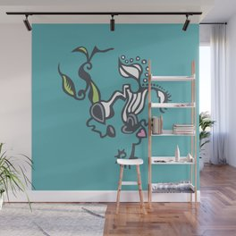 Uprooted Wall Mural