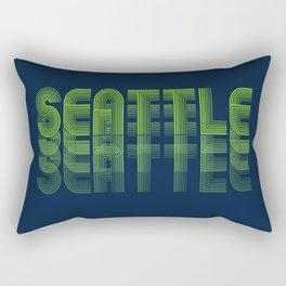 Seasons K Designs Seattle Fade Rectangular Pillow