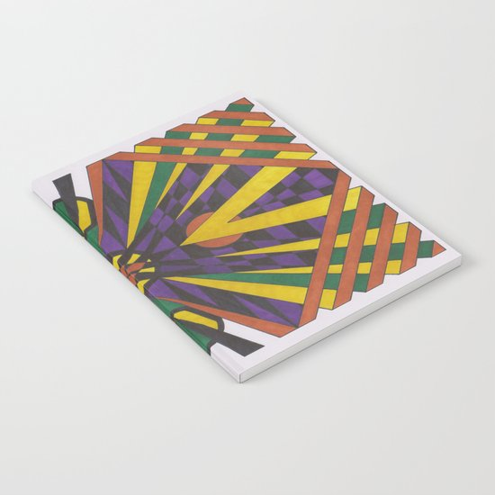 Purple Cross Notebook