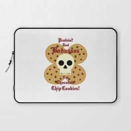 Real Badasses Eat Cookies! Laptop Sleeve