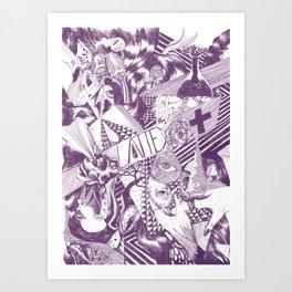Chromosoul Art Print