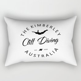 Cliff Jumping Shirt Australia Cliff Diver TShirt The Kimberley Cliff Diving T Shirt Rectangular Pillow