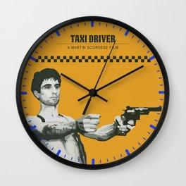 taxi driver, you talkin' to me? Wall Clock