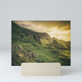Mesmerized By the Quiraing IV Mini Art Print