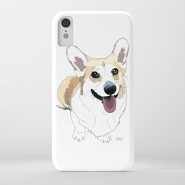 Corgi dog iPhone Case