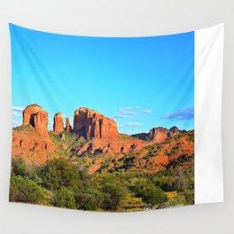 Cathedral Rock Sedona Arizona Wall Tapestry