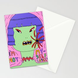 I'm not myself lately Stationery Cards
