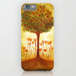 positive energy from the tree iPhone Case