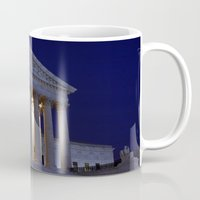 supreme Mugs featuring Supreme court by Dr. Tom Osborne