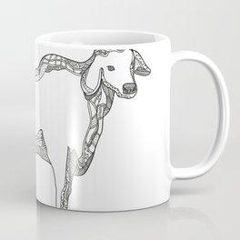 Brahman Bull Side Doodle Side Coffee Mug