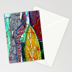 mosaic fantasy design Stationery Cards