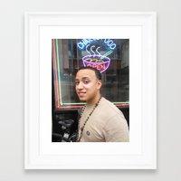 randy c Framed Art Prints featuring RANDY by Inoue Craig