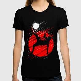 Soccer Red Lines T-shirt