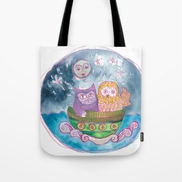 Owl and the Pussycat Tote Bag