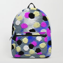 Dotts and texture Abstract Pattern Backpack