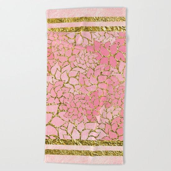 Summer Pattern #10 Beach Towel