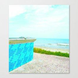 Seawall Boulevard Canvas Print