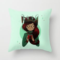 Christmas Party Throw Pillow