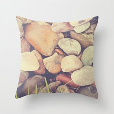 Just a pile of rocks Throw Pillow