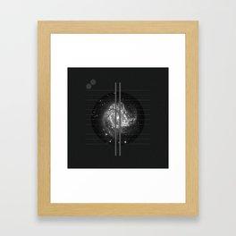 Metric Framed Art Print