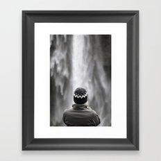 Seljalandsfoss Waterfall Iceland Framed Art Print