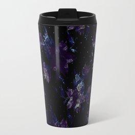 Art splash brush strokes paint abstract print Travel Mug