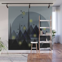 City landscape Wall Mural