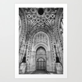 London_Parlament Art Print