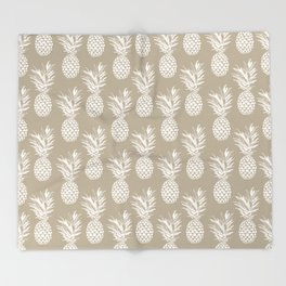 Tropical Sweetness Throw Blanket