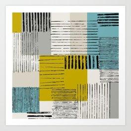 Patch Style Art Print