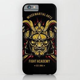 Samurai Mixed Martial Arts iPhone Case