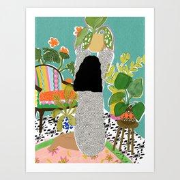 Jungle Queen Art Print