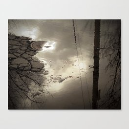 Losing The Light Canvas Print