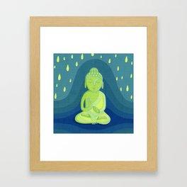Buddha D Framed Art Print