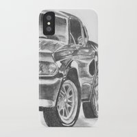 mustang iPhone & iPod Cases featuring Mustang by WNN Creations