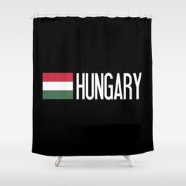 Hungary: Hungarian Flag & Hungary Shower Curtain