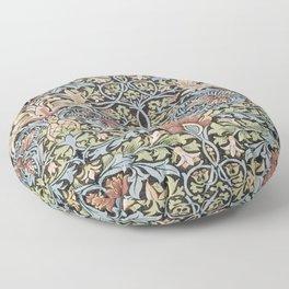 Art work of William Morris 6 Floor Pillow
