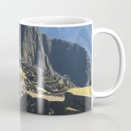 Macchu Picchu on a clear day Coffee Mug
