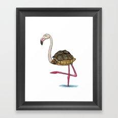Flamingoise Framed Art Print