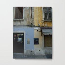 Piran, Ulica Metal Print