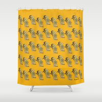 new orleans Shower Curtains featuring New Orleans by Tim Breitzmann