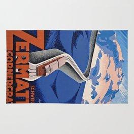 Vintage poster - Zermatt Rug