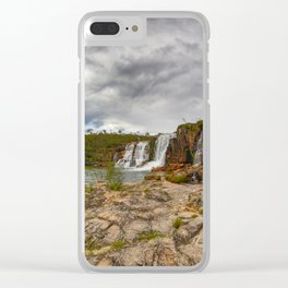 Here comes the rain Clear iPhone Case