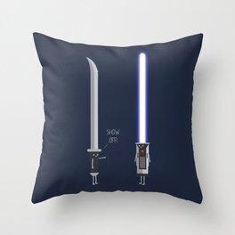 Show Off II Throw Pillow
