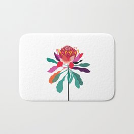 Australian Native; Waratah Bath Mat
