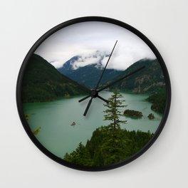 Ross Lake View Wall Clock