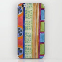 Paw Prints on the Wall iPhone Skin