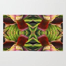 Banana Flower Pattern Rug