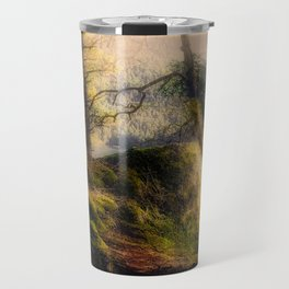 Misty Solitude, The Way Through The Woods Travel Mug