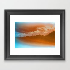 this place may only be found in your dreams Framed Art Print